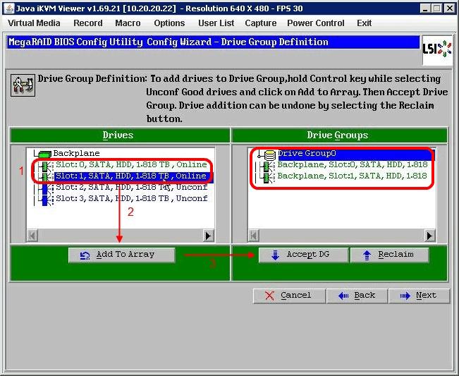 LSI MegaRAID: настройка RAID10 на контроллерах LSI Mega RAID - WIKI