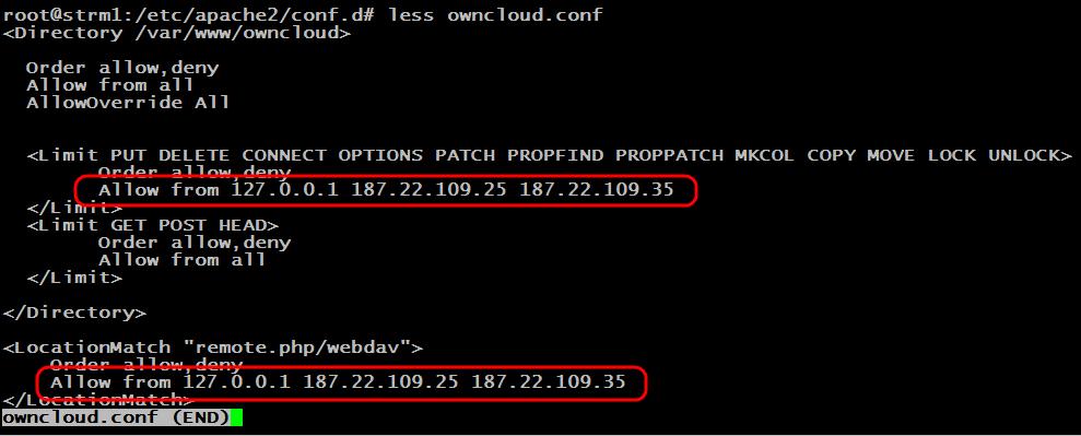 хранилище данных owncloud